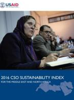 2016 CSOs Sustainability Index for the Middle East and North Africa