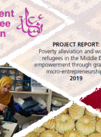 Poverty Alleviation and Women Refugees in the Middle East