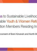 Improved Access to Sustainable Livelihood Opportunities for Vulnerable Youth & Women Refugees and Host Population Members Residing In Irbid, Jordan: A Market Assessment of Bani Kinanah and North Mazar Districts