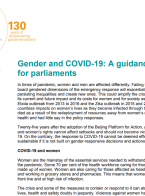 Gender and COVID-19: A guidance note for parliaments