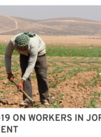 Key Findings: Rapid assessment of the impact of COVID-19 on vulnerable workers in Jordan