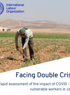 Facing Double Crises: Rapid assessment of the impact of COVID-19 on vulnerable workers in Jordan