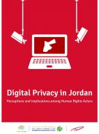 Digital Privacy in Jordan: Perceptions and Implications among Human Rights Actors