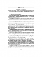 Optional Protocol to the Convention on the Rights of the Child on the involvement of children in Armed Conflict