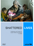 Shattered Lives: Challenges and Priorities for Syrian Children and Women in Jordan