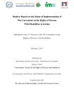 Shadow Report on the Status of Implementation of the Convention on the Rights of Persons with Disabilities in Jordan