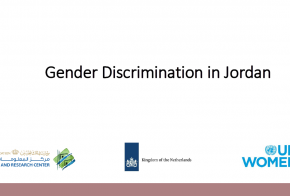 Gender Discrimination in Jordan - Presentation